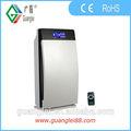 hogar purificador de aire de la capa de ozono la capa de ozono generador de iones negativos