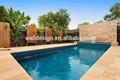 ottawa metal telas de privacidade para a piscina do jardim decoração