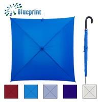 solid polyester rain umbrella square shape