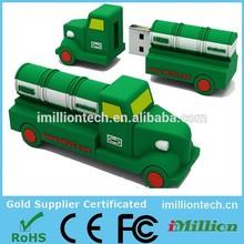 China supplier usb truck,truck shape usb flash drive,pen drive