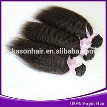 2014 Qingdao Kason Hair Best Sell 100% Raw Unprocessed Virgin Peruvian Tresses Hair