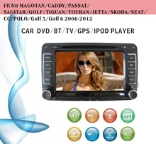 car dvd gps windows ce 6.0 fit for VW Magotan Caddy Passat with radio bluetooth gps tv