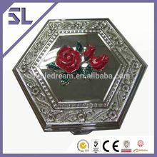 produttori contenitore di monili in metallo argentato decorazioni particolari cina di fantasia