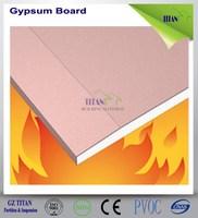 12.5mm Drywall Partition Fireproof Plaster Gypsum Board Oman