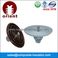 Eléctrico aisladores tipos de porcelana suspensión aislante
