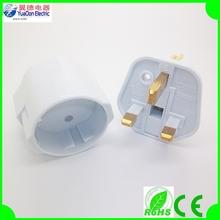 2 in 1 Eu to UK Adapter Plug white/black,UK plug to Euro socket