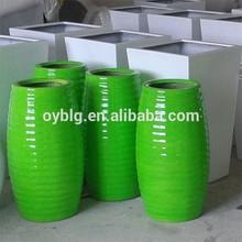 wholesale interior design flower planter pots for shopping mall