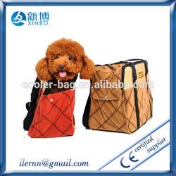 Designer Cat Dog Bicycle Bike Seat Basket Carrier Pet Bag