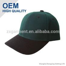 blackish green baseball caps with black visor OEM