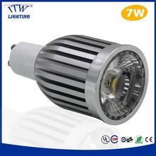 led gu10 7w with lens