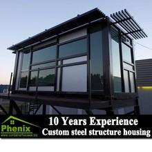 economic steel structure prefabricated prefab beach house