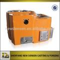Modificado para requisitos particulares de perforación de petróleo de maquinaria piezas de aleación de arena de acero del bastidor con mecanizado y la pintura