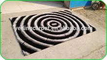 polyester silk european carpets