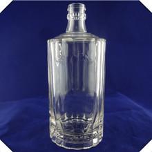 Wholesale custom empty clear super flint large giant big glass bottle