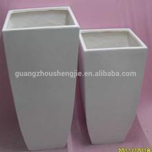 Q111194 outdoor fiberglass artificial plant vase garden landscape flower pot