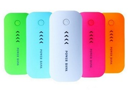 whosale factory price mobile phone power bank 5000, usb power bank ce fcc rohs