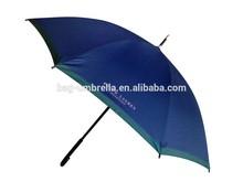 Big golf stick umbrella with wooden frame and nice style Men' umbrella