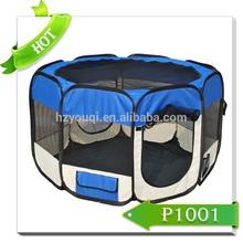 Cute folding fabric pet playpen dog house kennel