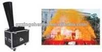 stage rainbow machine/confetti cannon/stage effect spray confetti machine for wedding party