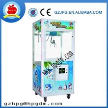 Coin operated crane vending game machine
