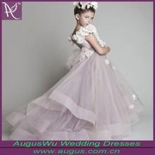 Lovely Princess Light Purple High Low Flower Girl Dress