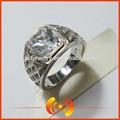 الأزياء والمجوهرات مخصص 925 للرجال الجنيه الاسترليني الفضة البنصر