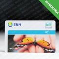 Pvc cr80 hf 13.56 mhz tarjetas rfid para la identificación