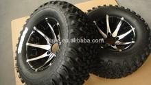 Golf Cart Aluminum Wheel Rim assemblied tire
