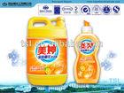 Kitchen dishwashing oil stain removing detergent