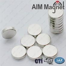 N52 NdFeB E-cigarette magnet 6mm * 1mm