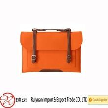 New arrival!!!Fashionable Grade A 9-15'' felt laptop bag for promotion