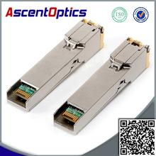 mini copper gbic optical module 10/100/1000BASE-T SFP copper wire, RJ-45