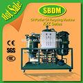 Kxz utilisé à l'huile déshydratation déchets d'huile diélectrique