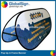 Shanghai GlobalSign high quality ground a frame banner