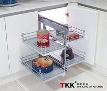 TKK Non-slip Basket Kitchen Cabinet Corner