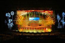 Super flux SMD DIP HD LED display commercial trucks and vans RGB HD LED display