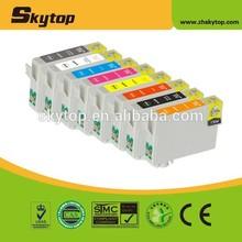 Compatible Epson T0870 T0871 T0872 T0873 T084 T0875 T0876 T0877 T0878 T0879 inkjet for Epson Stylus Photo R1900