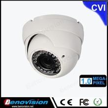 For Home / Office Indoor 2.8-12mm Lens Vandal Dome 1.3 Megapixel HDCVI Dahua Camera