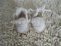 ขายส่งสาวทารกแรกเกิดทารกรองเท้าถักรูปแบบ