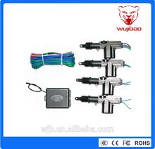 auto one master three slaves central lock system zinc alloy, car door lock power door lock actuator