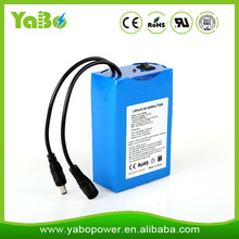 12v 20ah lithium-ion rechargeable battery for led light/strip/panel,CCTV camera,router, amplifier,speaker