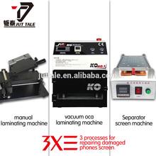 Full kit cellphone LCD refurbish machine group KO-01Vacuum OCA lamination machine damaged screen repair equipment