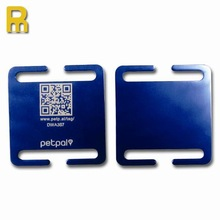 2014 top designer pet products as qr code dog id tags as best souvenirs
