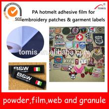 PA hot melt adhesives self adhesive plastic film