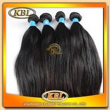 Wholesales top quality natural straight grade5A Brazilian hair,100%virgin human hair band