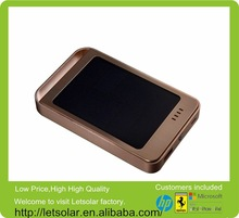 2014 hot sale external battery case, waterproof solar power bank,solar backpack,for ourtdoor charging