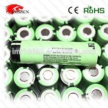Original 18650 battery 30a high rate battery NCR 18650B 3400MAH 3.7V e cigarette Li-ion NCR 18650B 30a high rate battery
