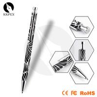 Shibell ballpoint pen springs cheap polymer clay ball pen decorative beaded pens
