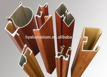 Great! popular white powder coating and anodized silver cheap aluminium profiles window for nigeria aluminium profile