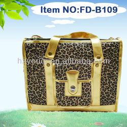 Leopard outdoor pet travel bag dog carriers cheap